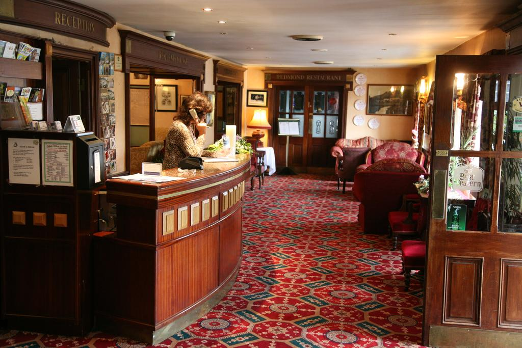 Woodenbridge Hotel Reception