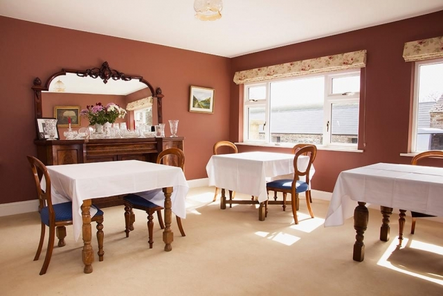 Ballinclea House Brittas Bay B&B Breakfast Room