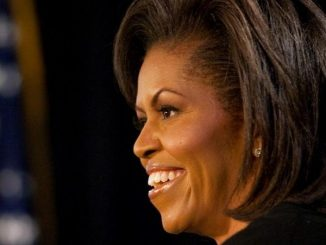Michelle Obama at Glendalough