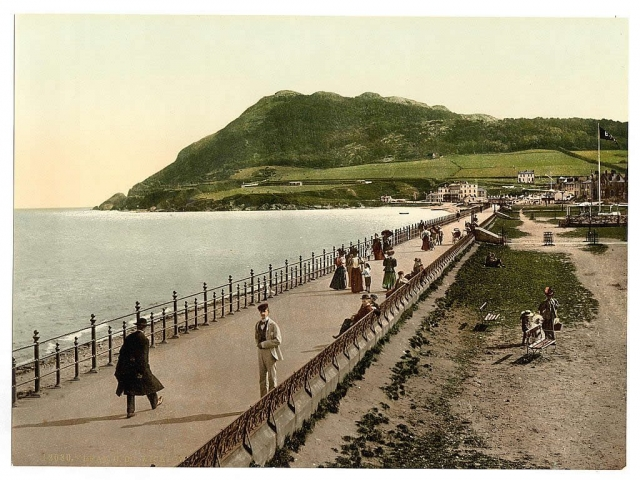 old photo of bray seafront