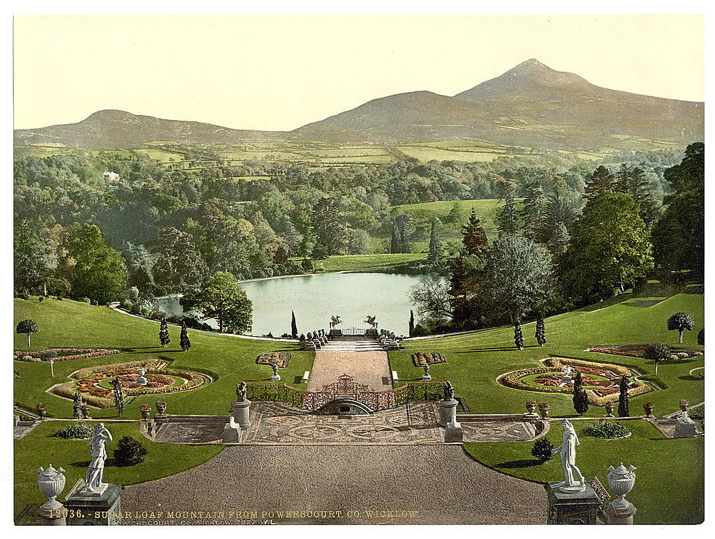 Sugarloaf Mountain from Powerscourt