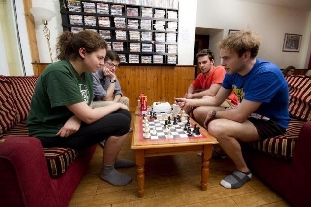 glendalough international youth hostel games room
