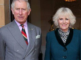 Princ charles and Camilla visit wicklow