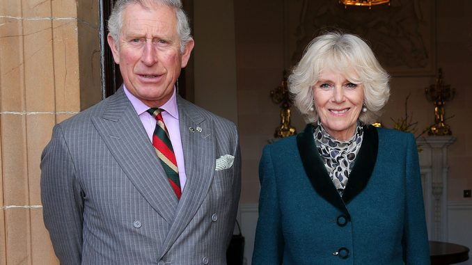 Princ charles and Camilla visit wicklow