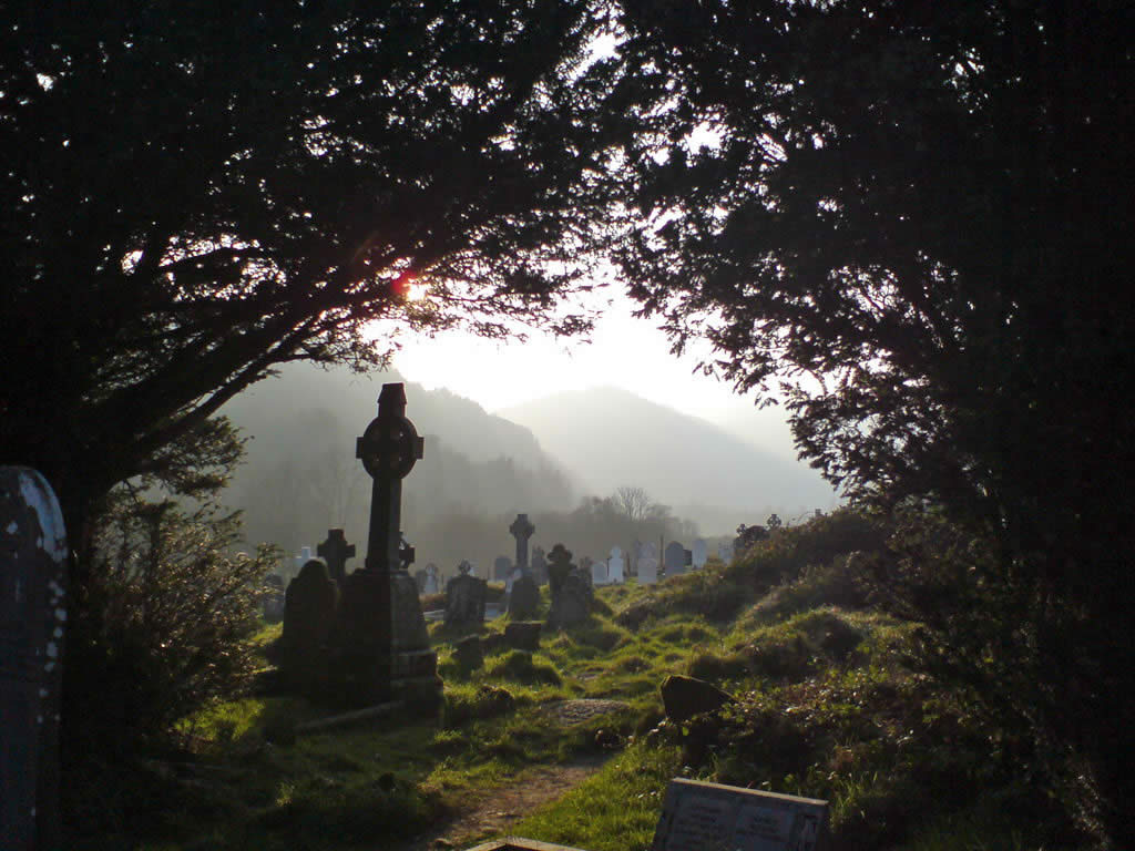 glendalough weather hazy