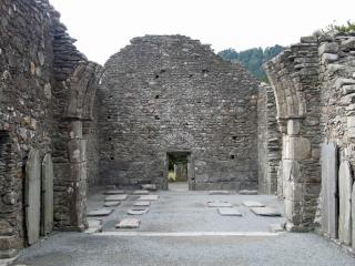 Church ruin Glendalough