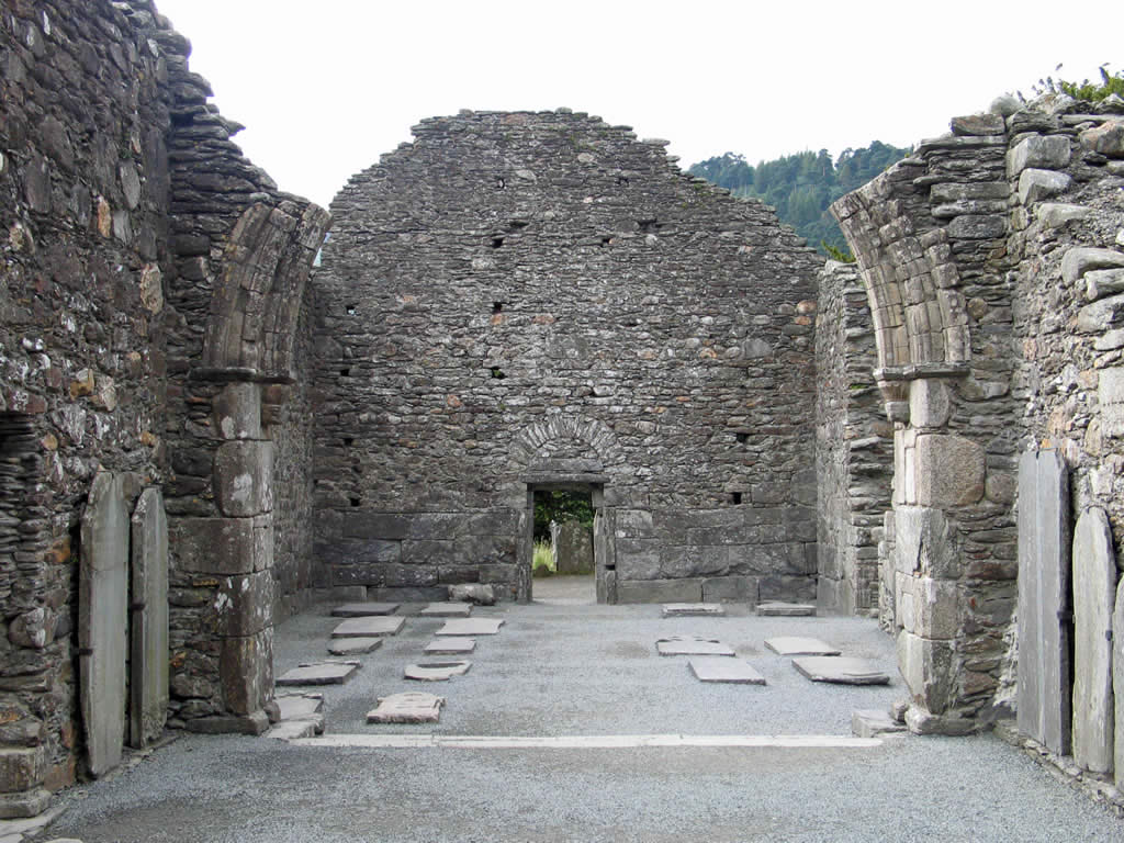 Church ruin Glendalough