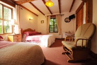 Tudor Lodge family room